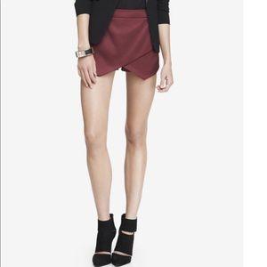NWT Express Asymmetrical Hem Shorts | Skort